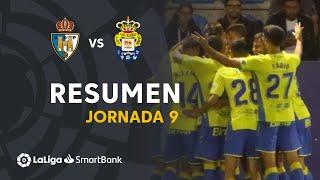 Resumen de SD Ponferradina vs UD Las Palmas (0-2)