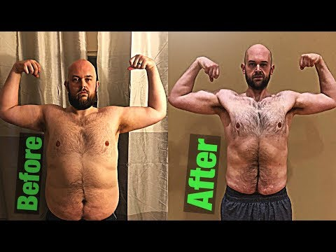Extreme Weight loss Transformation He Lost 100 lbs Fast!