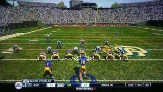 NCAA Football 10 Jackson State vs Southern ( HBCU ) 1ST Quarter