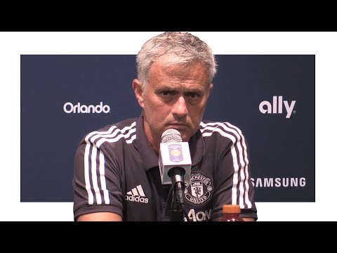 Man Utd 2-0 Man City - Jose Mourinho Post Match Press Conference - Manchester Derby - Utd Tour 2017