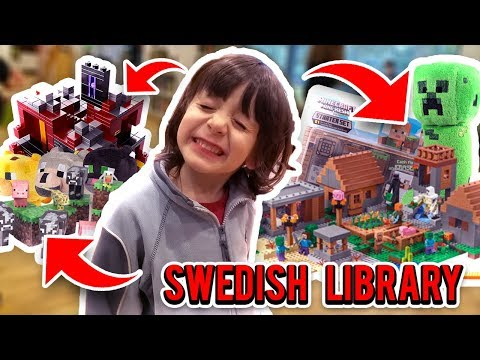 SWEDISH LIBRARY FOR KIDS