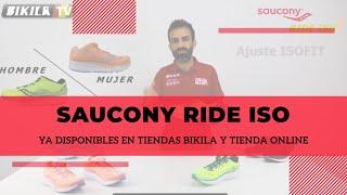 Nuevas Zapatillas Saucony Ride ISO 2