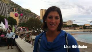Austrian Lisa Hütthaler speaks TriStar at Monaco