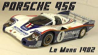 【ミニカー・diecast cars】PMA 1:18 PORSCHE 956 1982 Le Mans 1st ROTHMANS ミニチャンプス 1/18 ポルシェ956 ル・マン1982