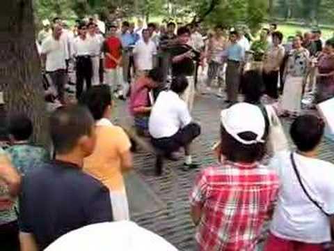Public Singing in Beijing