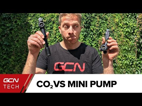Mini Bike Pump Vs CO2 Inflator: The Pros & Cons
