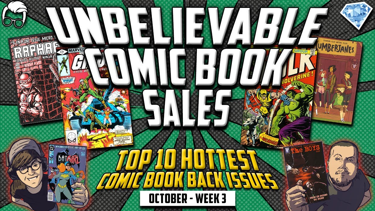 The Top 10 Hottest Selling Back Issue Comic Books in the Market this Week // ft.GemMintCollectibles