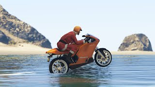 BIKES ON WATER! (GTA 5 Funny Moments)