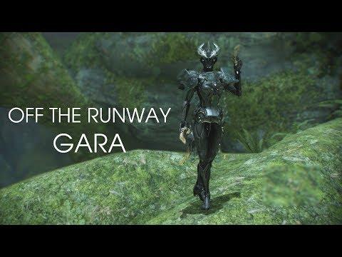 Warframe: Off The Runway - Gara Fashionframe