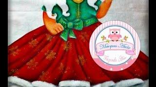 DIY - Barrado inteligente - motivo natalino parte 1