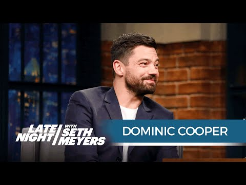 Dominic Cooper Talks Starring in Preacher