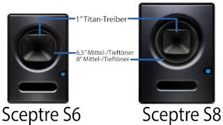 PreSonus—Sceptre CoActual Monitore mit DSP—Auf Deutsch