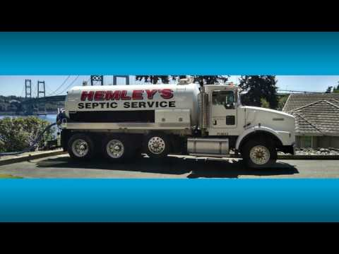 Hemley Septic Tank Cleaning Service   Tacoma - Puyallup - Gig Harbor
