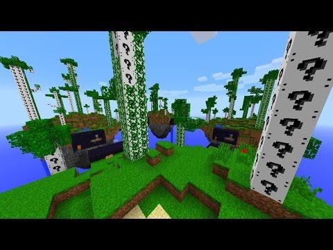 Minecraft WHITE LUCKY BLOCK BRIDGES #4 with Vikkstar, PrestonPlayz, JeromeASF & Woofless