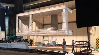英国ロイヤル・オペラ《ドン・ジョヴァンニ》舞台設営
