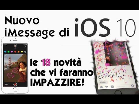 iOS 10: le 18 Novità di iMessage che vi faranno IMPAZZIRE!