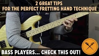 2 Great Tips For The Perfect Fretting Hand Technique /// Scott