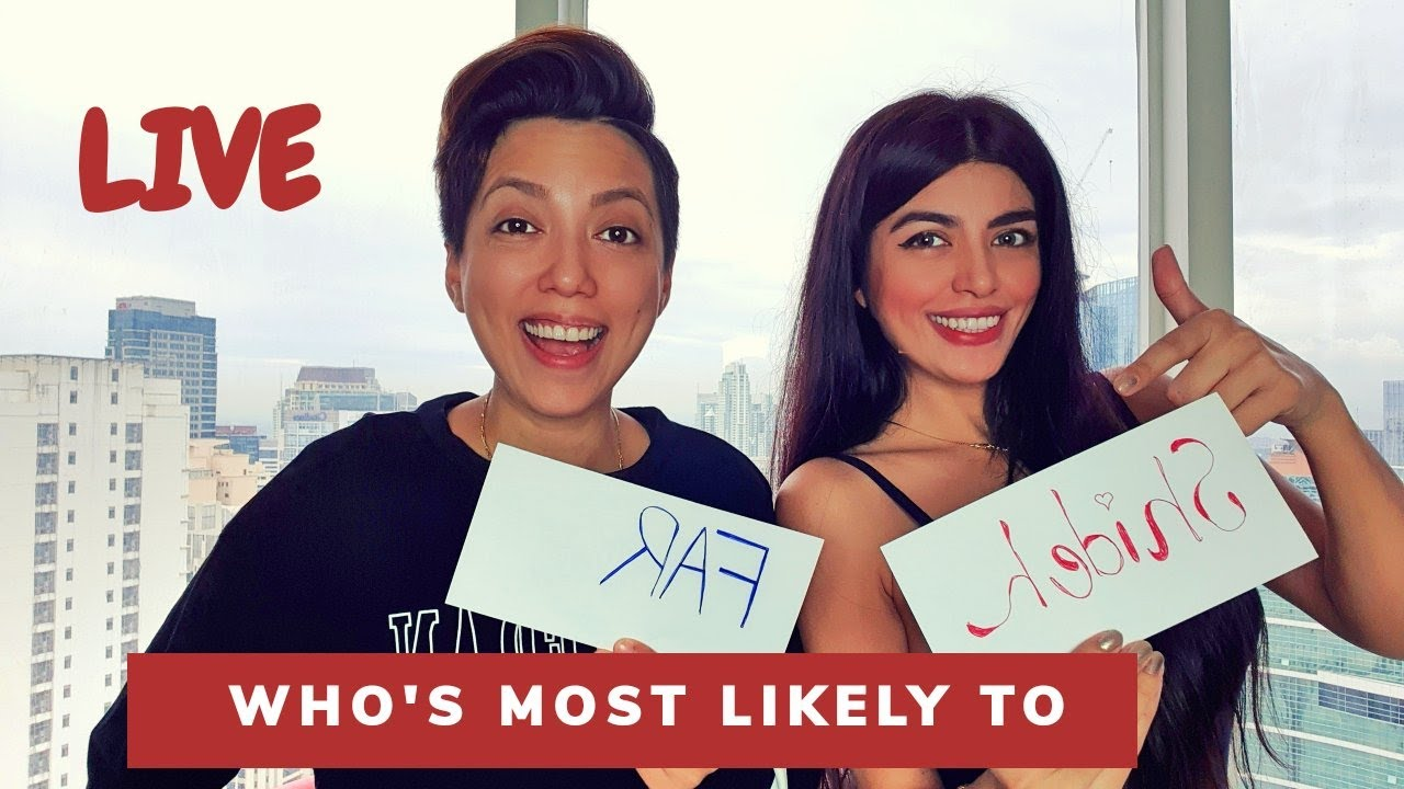 Who's Most Likely To..... | LIVE