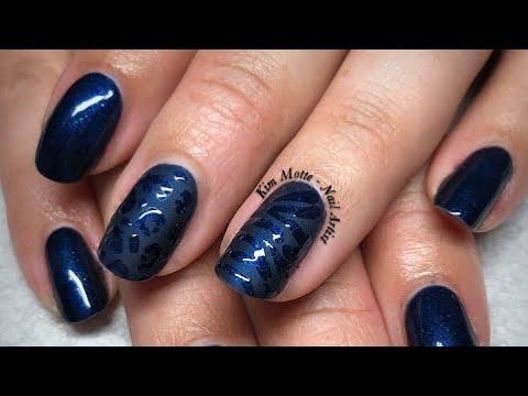 Matte Animal Print Nail Art Tutorial thumbnail