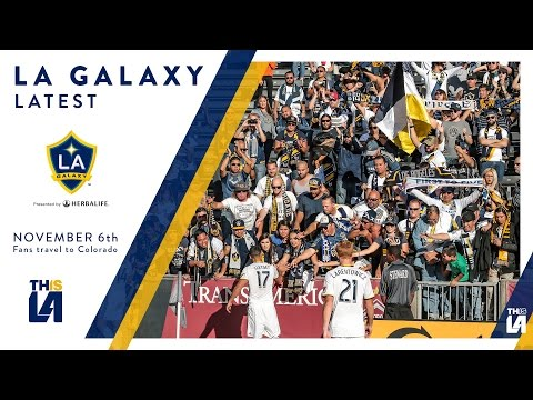 LA Galaxy Supporters Travel to Colorado   LATEST
