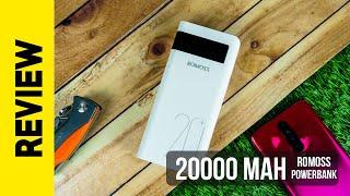 Romoss Sense 6PS - 20000 mAh Power Bank Review