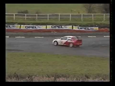 John McCluskey Ford Escort Cosworth-Network 2 TV 1995