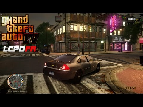 GRAND THEFT AUTO IV - LCPDFR - EPiSODE 36 - (NYPD UNMARKED IMPALA PATROL) UNTIL SAPDFR/ LSPDFR