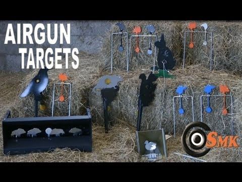 AIR RIFLE TARGETS - SMK Air Gun Alley - Re-Upload