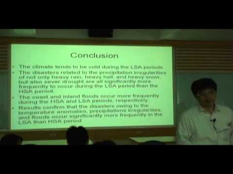 劉正彥-Atmospheric Signatures of Solar Viability and Earthquake