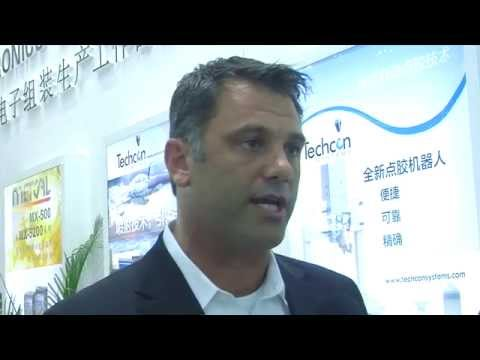 Chris Larocca, President & CEO of OK International at NEPCON South China
