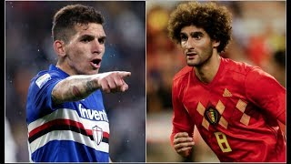 Arsenal In Talks For Tough Tackling Lucas Torreira & Would Fellaini Fit? |  AFTV Transfer Daily
