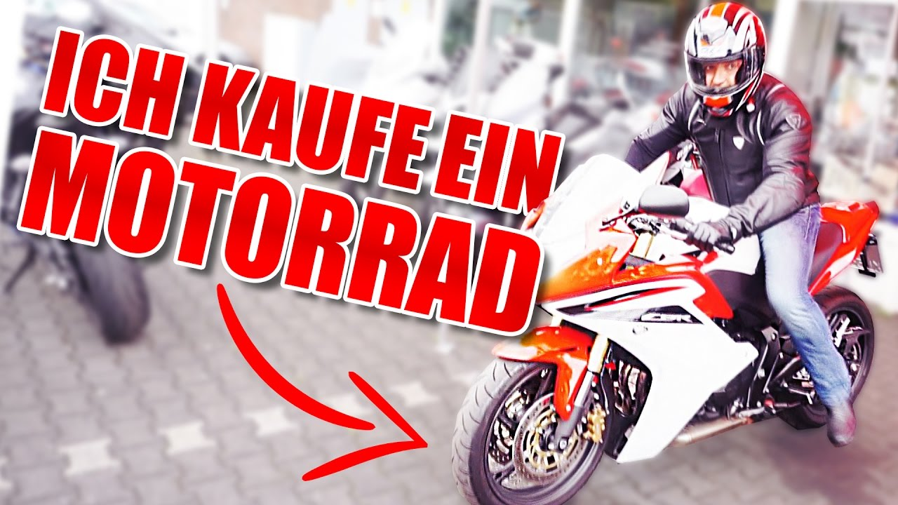 ich kaufe ein motorrad youtube. Black Bedroom Furniture Sets. Home Design Ideas