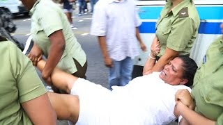 Dozens of protesters arrested before Obama's arrival in Cuba