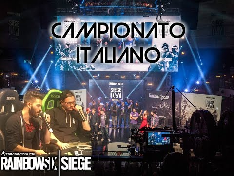 HIGHLIGHTS CAMPIONATO ITALIANO DAY 1 PART 1 RAINBOW SIX SIEG