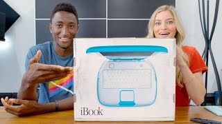 Unboxing a SEALED iBook G3 with MKBHD! thumbnail