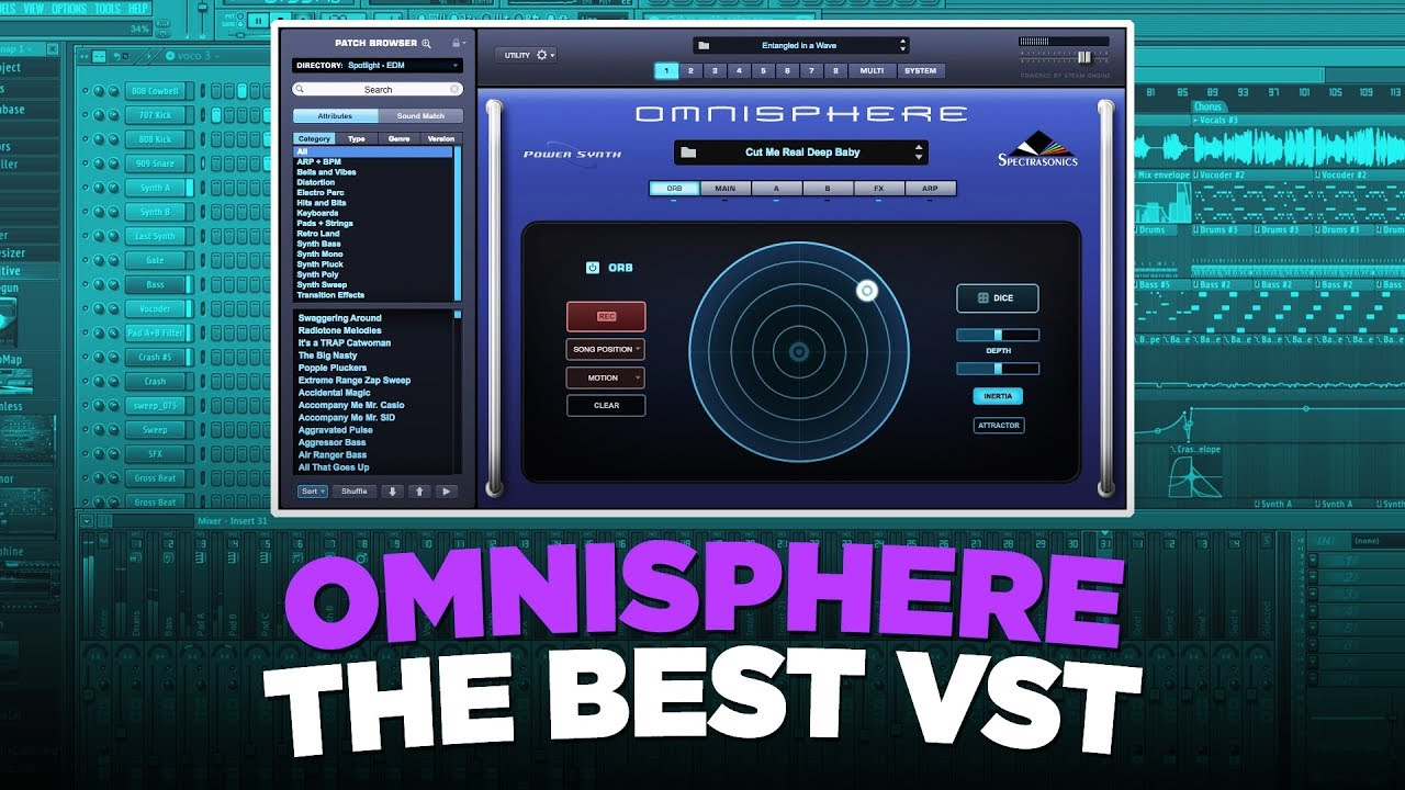 NICK MIRA MAKES MELODIES AND BEATS FROM SCRATCH WITH OMNISPHERE | Athena  Omnisphere Bank Preview