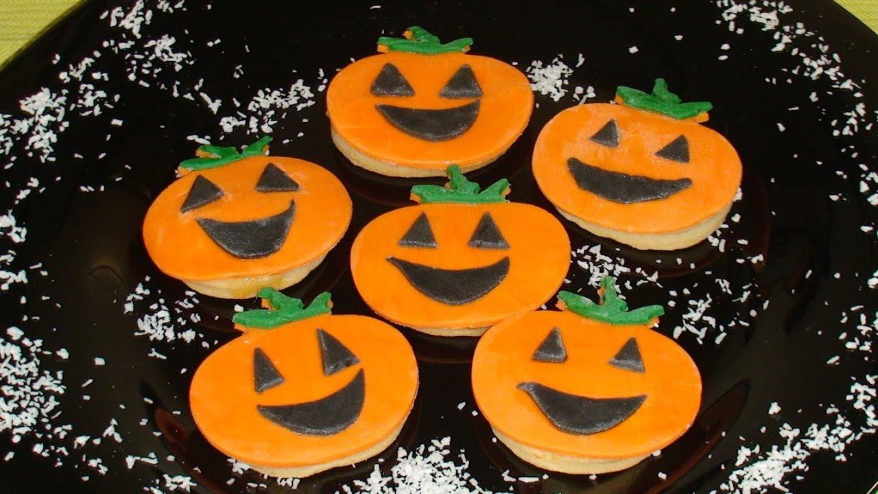 Galletas de Halloween HD Galletitas de mantequilla YouTube