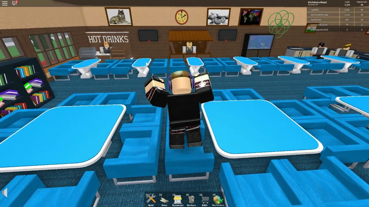 THE WAITERS AREN'T DELIVERING THE DRINKS | Roblox glitch