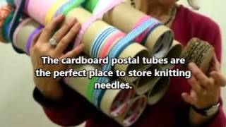 Five Simple Ways to Reuse Cardboard Postal Tubes