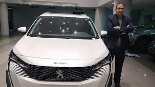 فيديو تفصيلي بيجو 5008 فيس ليفت الشكل الجديد افضل SUV 7 راكب في مصر