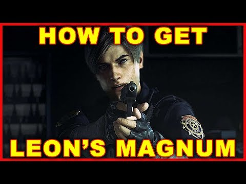 Resident Evil 2: How to Get Leon's Magnum (2019 Remake)