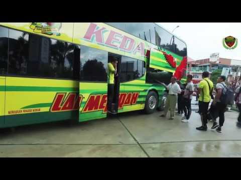 Ketibaan pasukan Kedah di Ipoh video Kedah FA - Persatuan Bolasepak Kedah -