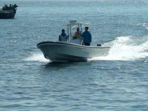 MOV04382 China BestYear Boat Panga 30 boat - YouTube