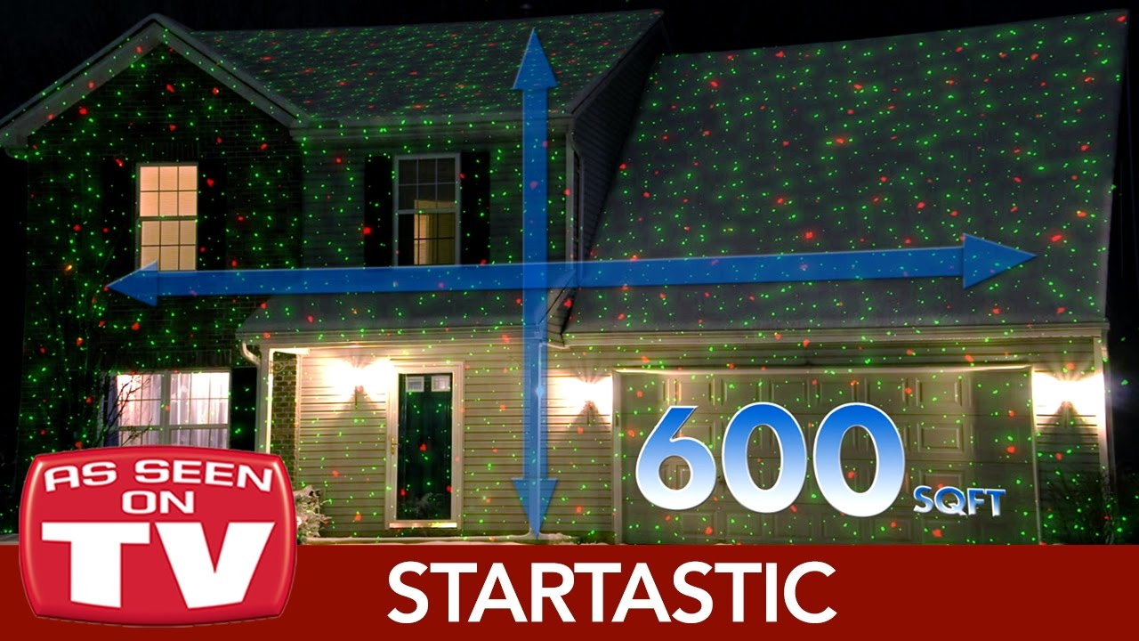 Startastic Home Holiday Light Projector