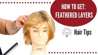 How to Get Feathered Hair - TheSalonGuy