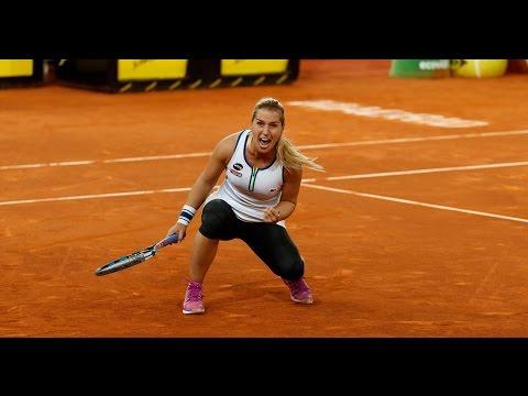 2016 Mutua Madrid Open Second Round   Dominika Cibulkova vs Caroline Garcia   WTA Highlights