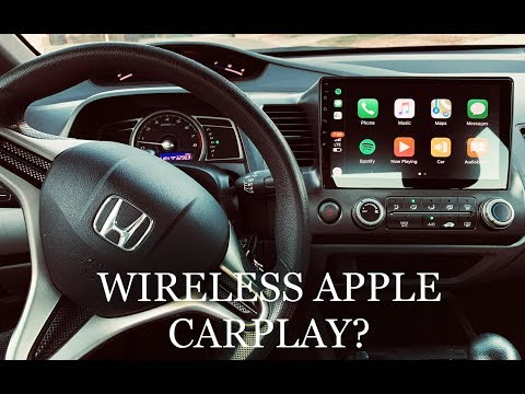 Wireless Apple Carplay On Honda Civic (2006-2011) | Full Install