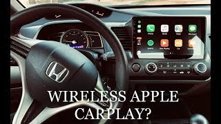 Wireless Apple Carplay on Honda Civic (20062011) | Full Install