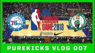 NBA LONDON GAME 2018 (76ERS vs CELTICS)