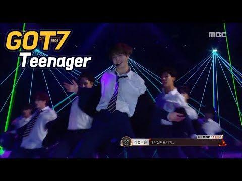 [2017 MBC Music festival]GOT7- Teenager,갓세븐- Teenager 20171231